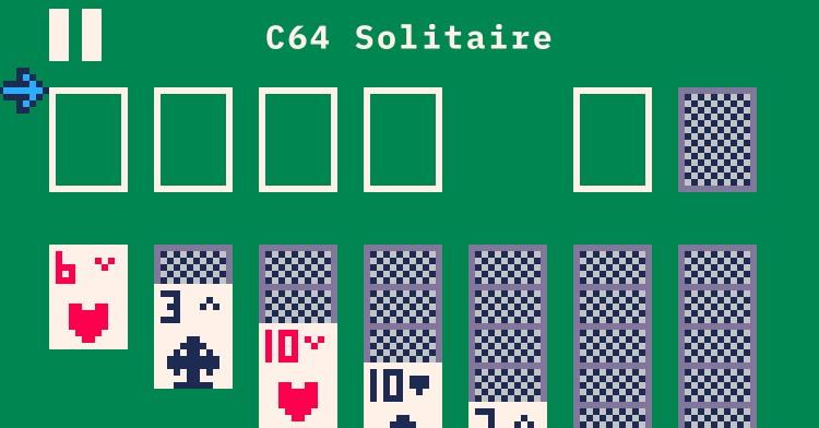 C64 Solitaire