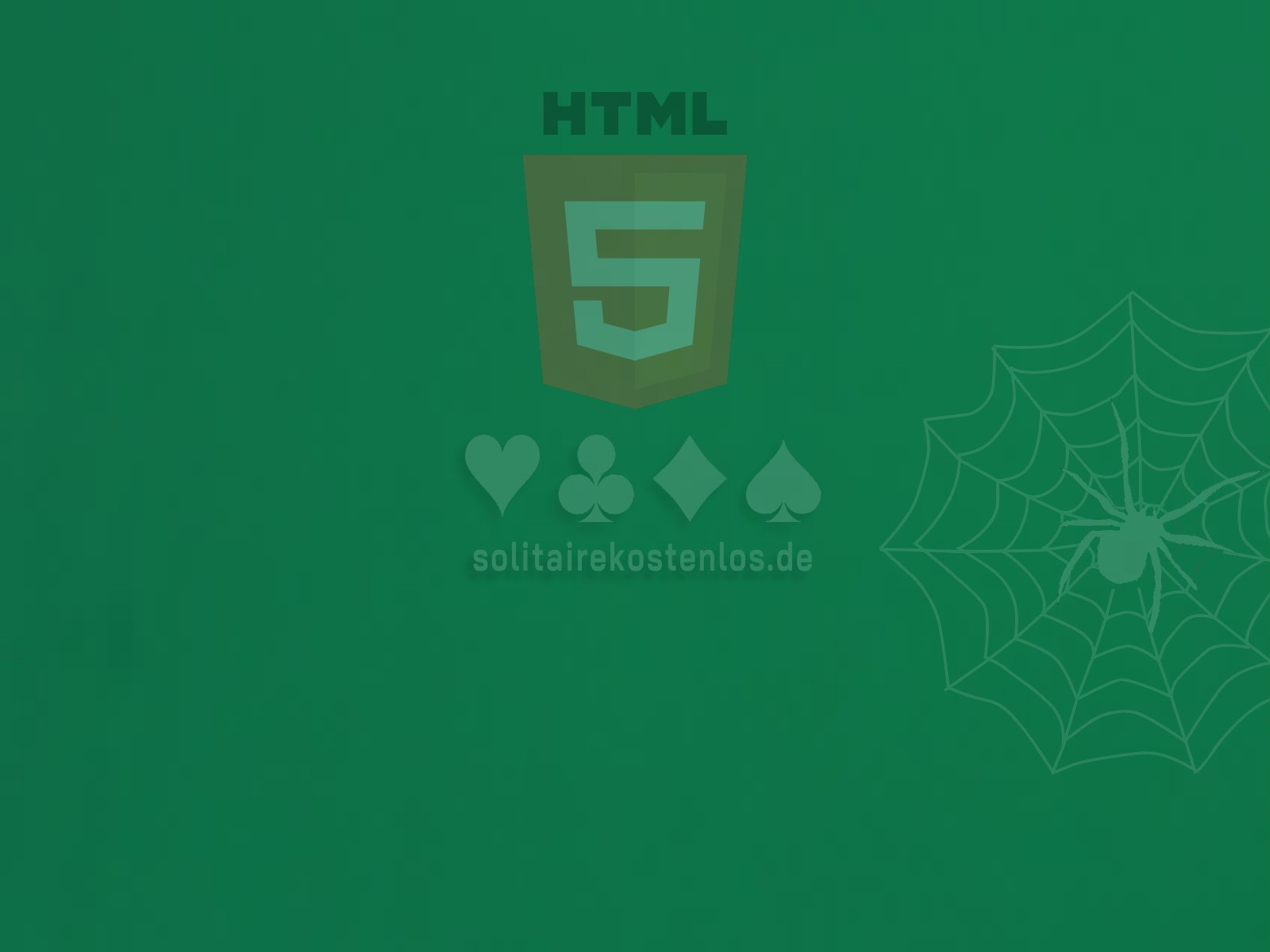 Image HTML5 Spider Solitaire