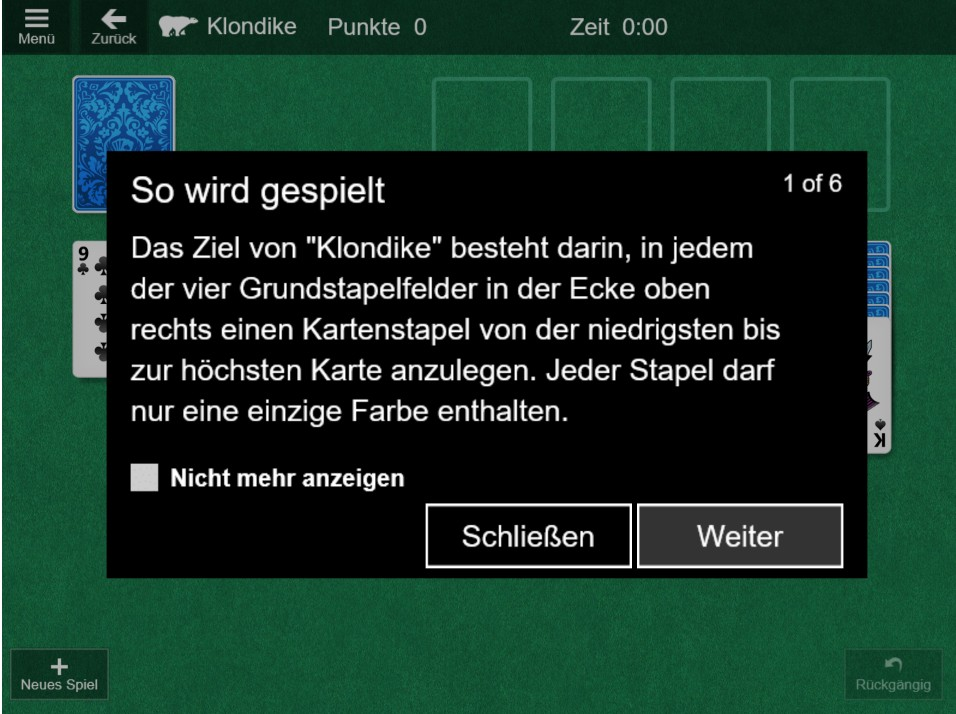 Image Microsoft Solitaire Online