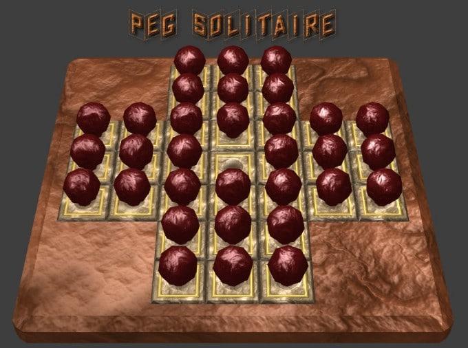 Image Peg Solitaire